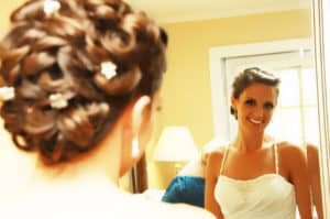 bridal hairstyle in long island ny