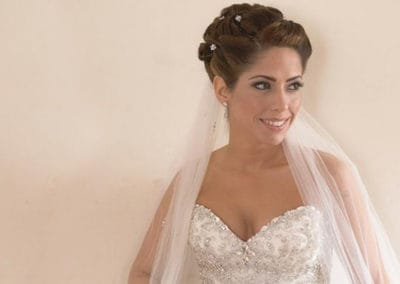 traditional bridal updo for Mansion wedding in Long Island