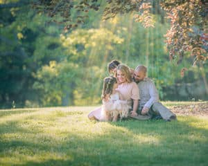 Family Photo Session in Park on Long Island NY