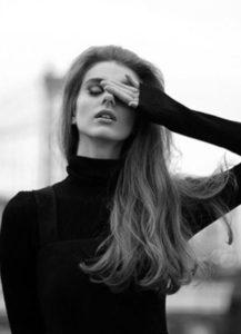 vintage hair for Brooklyn Bridge photoshoot