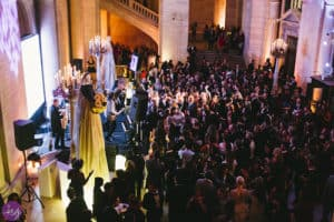 The Knot gala at the New York Public Library