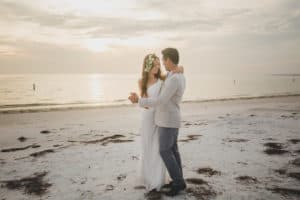 Beachy Wedding Hair and Make Up in Fort De Soto St. Petersburg FL
