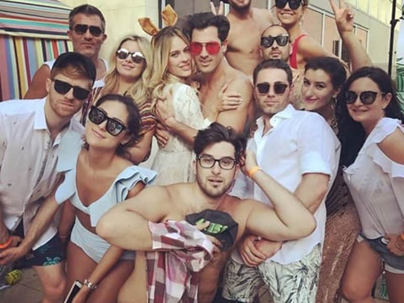 Maks and Peta's Pool Party